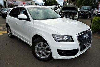 2011 Audi Q5 8R MY11 TDI S Tronic Quattro White 7 Speed Sports Automatic Dual Clutch Wagon.