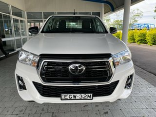 2020 Toyota Hilux SR White Sports Automatic Cab Chassis - Extended Cab.