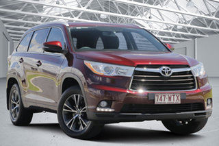 2016 Toyota Kluger GSU55R GXL (4x4) Deep Red 6 Speed Automatic Wagon.