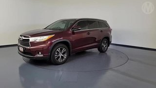 2016 Toyota Kluger GSU55R GXL (4x4) Deep Red 6 Speed Automatic Wagon