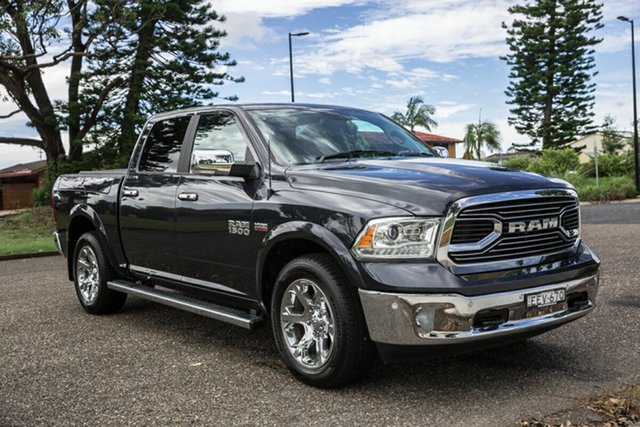 Used Ram 1500 MY20 Laramie Crew Cab SWB RamBox Port Macquarie, 2020 Ram 1500 MY20 Laramie Crew Cab SWB RamBox Maximum Steel 8 Speed Automatic Utility