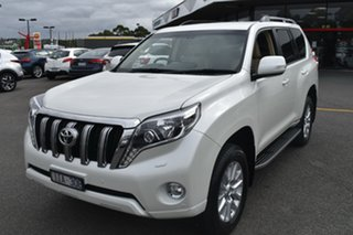 2016 Toyota Landcruiser Prado GDJ150R VX White 6 Speed Sports Automatic Wagon