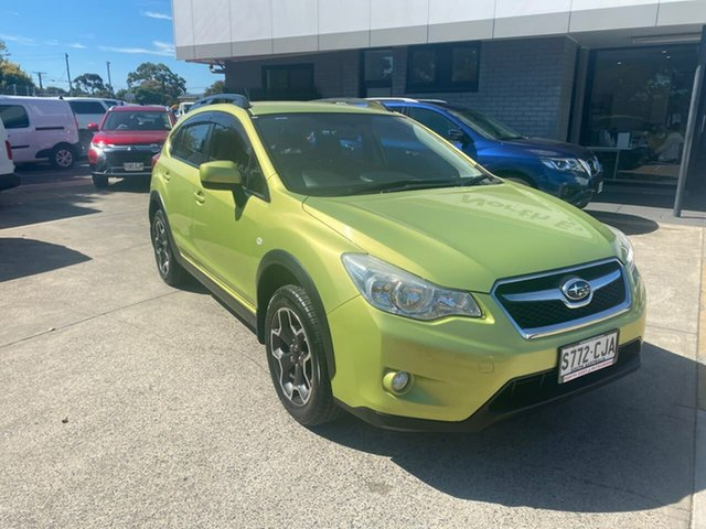 Used Subaru XV G4X MY14 2.0i Lineartronic AWD Hillcrest, 2014 Subaru XV G4X MY14 2.0i Lineartronic AWD Green 6 Speed Constant Variable Wagon