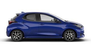 2020 Toyota Yaris Mxpa10R ZR Lunar Blue 10 Speed Constant Variable Hatchback.