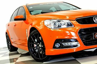 2013 Holden Commodore VF SS-V Redline Orange 6 Speed Manual Sedan.