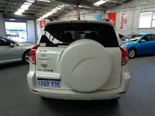 2006 Toyota RAV4 ACA33R Cruiser White 4 Speed Automatic Wagon