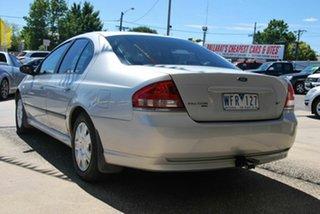 2007 Ford Falcon BF MkII 07 Upgrade XT Silver 4 Speed Auto Seq Sportshift Sedan
