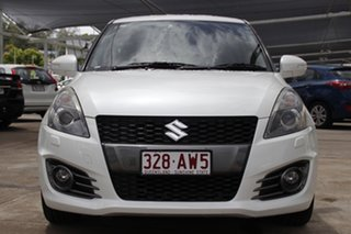2015 Suzuki Swift FZ MY15 Sport White 6 Speed Manual Hatchback