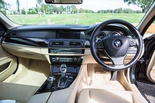 2013 BMW 5 Series F10 MY1112 535i Steptronic Black 8 Speed Sports Automatic Sedan