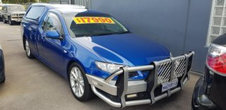 2013 Ford Falcon FG MK2 XR6 Blue 6 Speed Auto Seq Sportshift Utility.