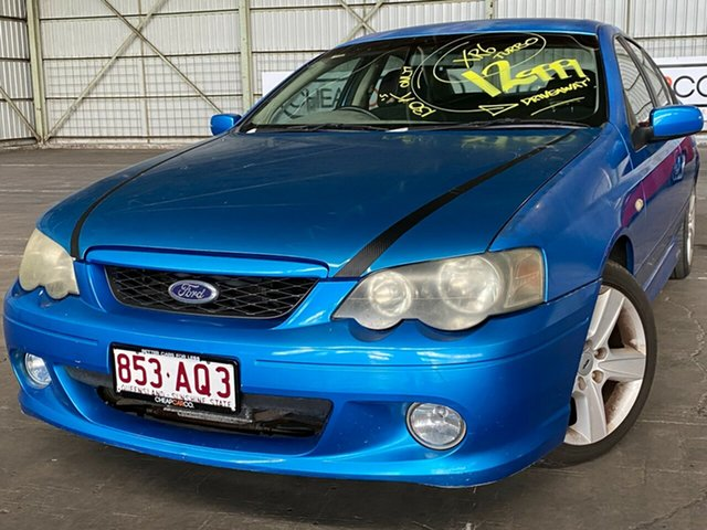 Used Ford Falcon BA XR6 Turbo Rocklea, 2003 Ford Falcon BA XR6 Turbo Blue 4 Speed Sports Automatic Sedan