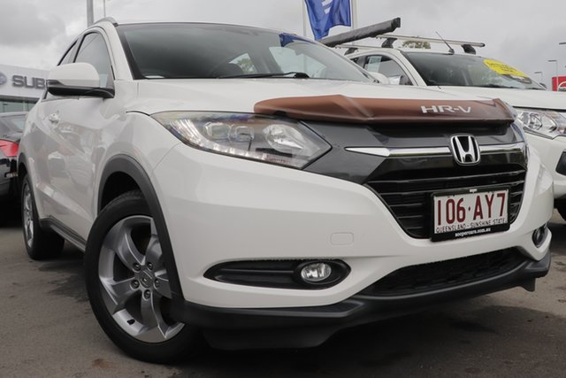 Used Honda HR-V MY16 VTi-S Aspley, 2016 Honda HR-V MY16 VTi-S White 1 Speed Constant Variable Hatchback