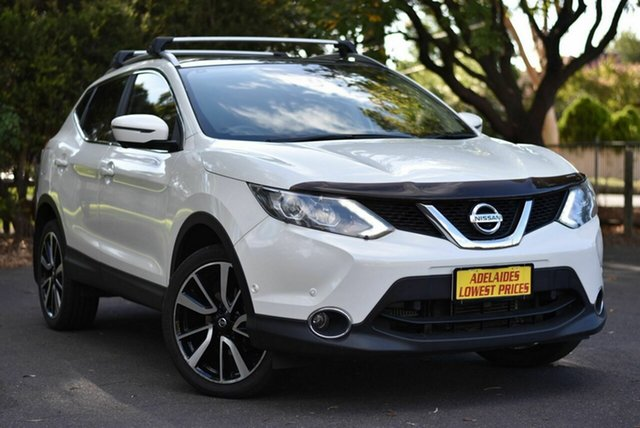 Used Nissan Qashqai J11 TL Melrose Park, 2017 Nissan Qashqai J11 TL White 1 Speed Constant Variable Wagon