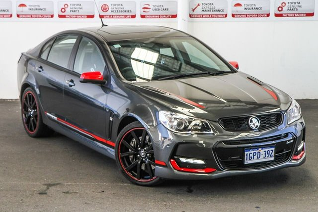 Pre-Owned Holden Commodore VF II MY17 SS-V Redline Motorsport Edt Rockingham, 2017 Holden Commodore VF II MY17 SS-V Redline Motorsport Edt 6 Speed Manual Sedan