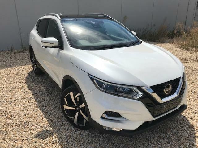 Used Nissan Qashqai MY20 TI Wangaratta, 2020 Nissan Qashqai MY20 TI White Continuous Variable Wagon