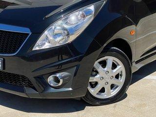2011 Holden Barina Spark MJ MY11 CD Black 5 Speed Manual Hatchback