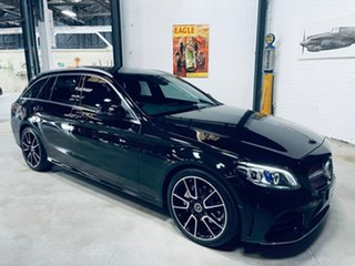 2019 Mercedes-Benz C-Class S205 809MY C220 d Estate 9G-Tronic Black 9 Speed Sports Automatic Wagon