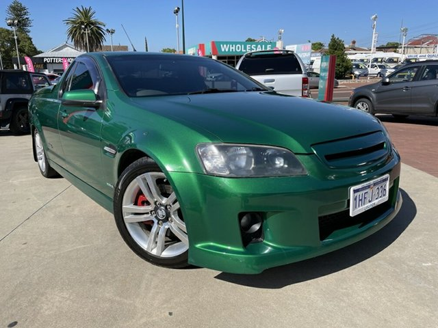 Used Holden Commodore VE MY09.5 SS Victoria Park, 2009 Holden Commodore VE MY09.5 SS Green 6 Speed Automatic Utility