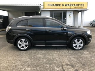 2012 Holden Captiva CG Series II 7 SX Black 6 Speed Sports Automatic Wagon.