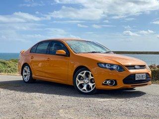 2014 Ford Falcon FG MkII XR6 Turbo Orange 6 Speed Sports Automatic Sedan.