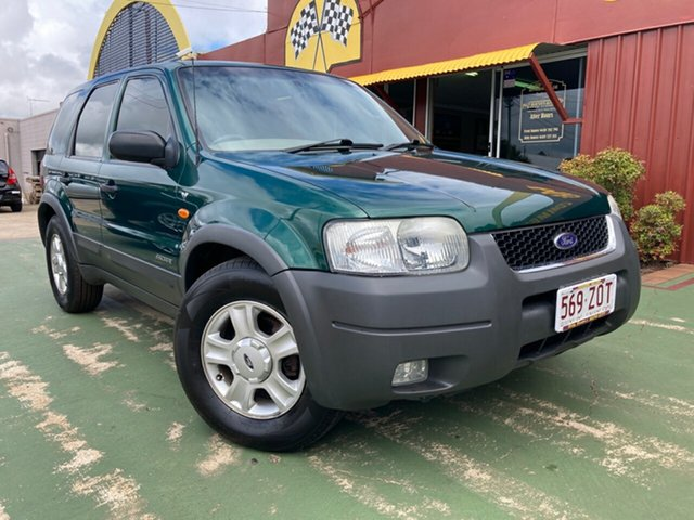 Used Ford Escape BA XLT Toowoomba, 2001 Ford Escape BA XLT 4 Speed Automatic SUV