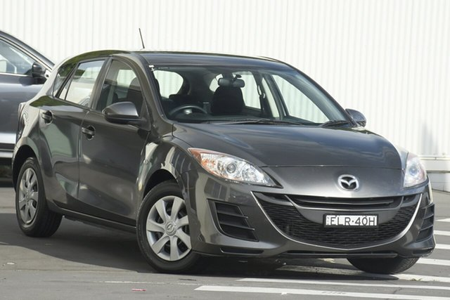 Used Mazda 3 BL10F1 Neo Wollongong, 2010 Mazda 3 BL10F1 Neo Graphite 6 Speed Manual Hatchback