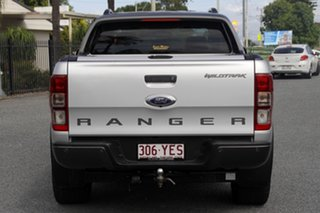 2016 Ford Ranger PX MkII Wildtrak Double Cab Silver 6 Speed Sports Automatic Utility
