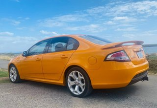 2014 Ford Falcon FG MkII XR6 Turbo Orange 6 Speed Sports Automatic Sedan