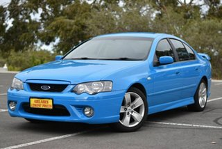 2005 Ford Falcon BF XR6 Blue 4 Speed Automatic Sedan.