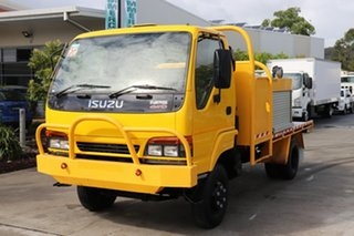 2000 Isuzu NPS 300 Yellow Manual Firetruck.