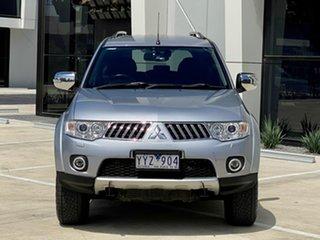 2012 Mitsubishi Challenger PB (KH) MY12 XLS Silver 5 Speed Sports Automatic Wagon.