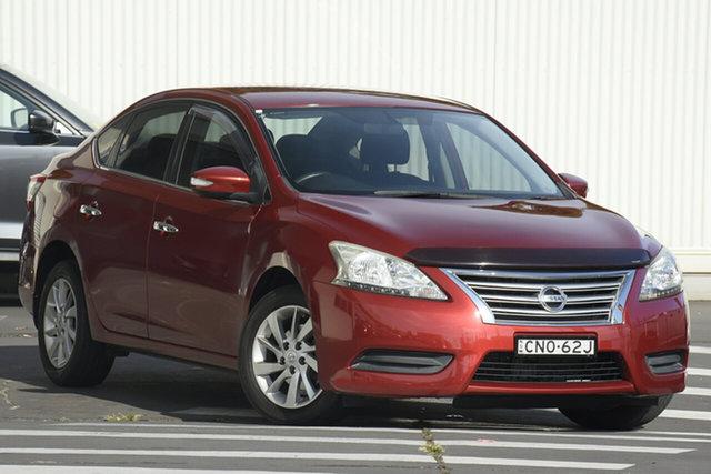 Used Nissan Pulsar B17 ST Wollongong, 2013 Nissan Pulsar B17 ST Maroon 1 Speed Constant Variable Sedan