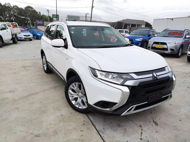 Used Mitsubishi Outlander ZL MY19 ES 2WD Liverpool, 2019 Mitsubishi Outlander ZL MY19 ES 2WD White 6 Speed Constant Variable Wagon