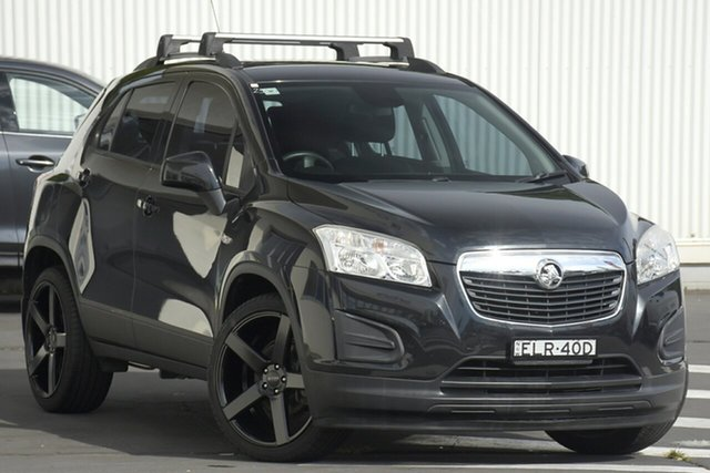 Used Holden Trax TJ MY14 LS Wollongong, 2014 Holden Trax TJ MY14 LS Black 5 Speed Manual Wagon