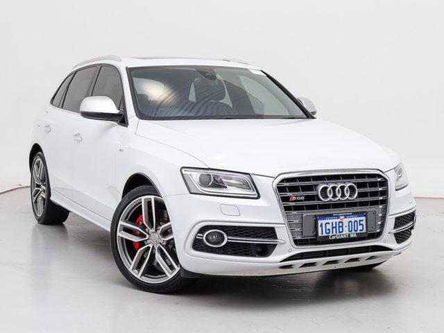 Used Audi SQ5 8R MY15 3.0 TDI Quattro, 2015 Audi SQ5 8R MY15 3.0 TDI Quattro White 8 Speed Automatic Wagon