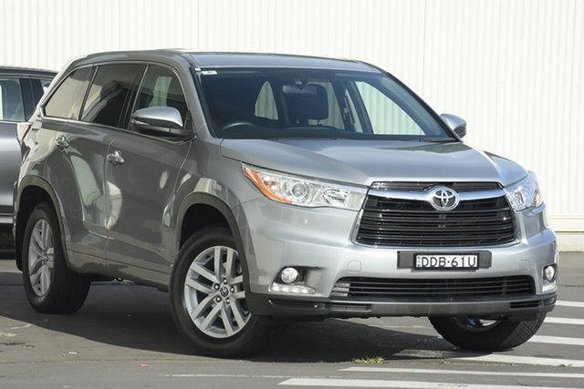 Used Toyota Kluger GSU50R GX 2WD Wollongong, 2016 Toyota Kluger GSU50R GX 2WD Silver 6 Speed Sports Automatic Wagon