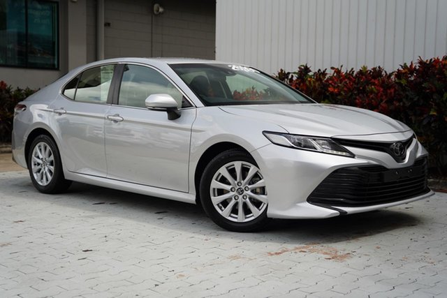 Used Toyota Camry ASV70R Ascent Cairns, 2019 Toyota Camry ASV70R Ascent Silver 6 Speed Sports Automatic Sedan