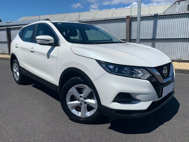Used Nissan Qashqai J11 Series 2 ST X-tronic Moonah, 2019 Nissan Qashqai J11 Series 2 ST X-tronic White 1 Speed Constant Variable Wagon