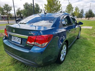 2011 Holden Cruze JH Series II MY11 SRi-V Blue 6 Speed Manual Sedan