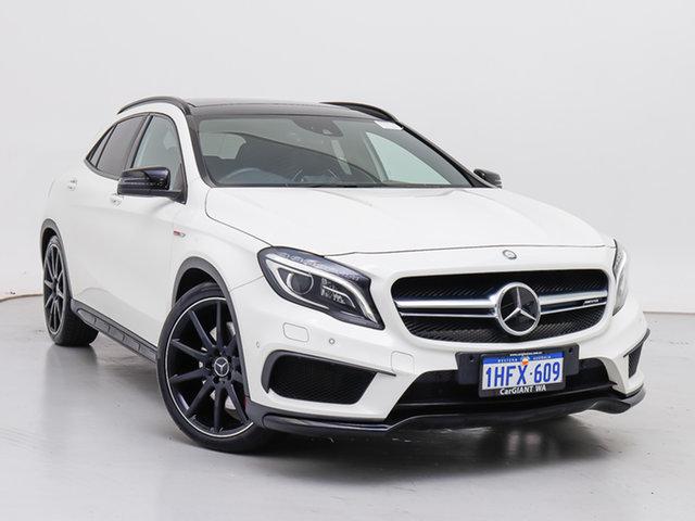 Used Mercedes-Benz GLA45 AMG 4Matic X156 MY15 , 2015 Mercedes-Benz GLA45 AMG 4Matic X156 MY15 White 7 Speed Auto Dual Clutch Wagon