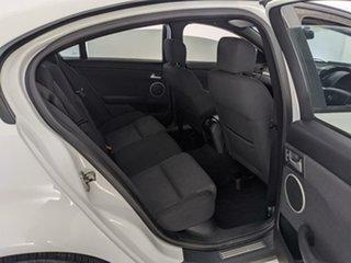 2010 Holden Commodore VE II SV6 White 6 Speed Sports Automatic Sedan
