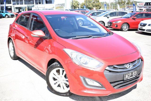 Used Hyundai i30 GD2 MY14 SE Ferntree Gully, 2014 Hyundai i30 GD2 MY14 SE Red 6 Speed Sports Automatic Hatchback