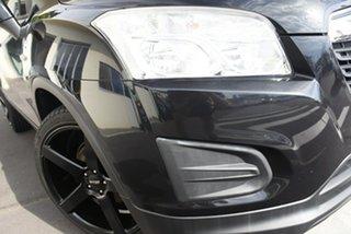 2014 Holden Trax TJ MY14 LS Black 5 Speed Manual Wagon.