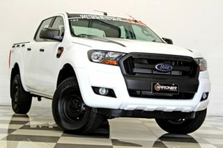 2017 Ford Ranger PX MkII MY18 XL 3.2 (4x4) White 6 Speed Automatic Crew Cab Utility.