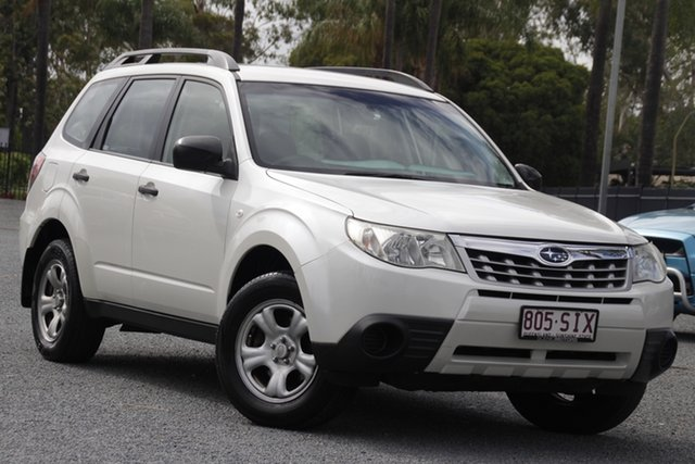 Used Subaru Forester S3 MY12 X AWD Beaudesert, 2012 Subaru Forester S3 MY12 X AWD White 4 Speed Sports Automatic Wagon