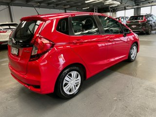 2019 Honda Jazz GF MY19 VTi Red 1 Speed Constant Variable Hatchback.