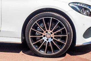 2015 Mercedes-Benz C-Class S205 C250 BlueTEC Estate 7G-Tronic + White 7 Speed Sports Automatic Wagon