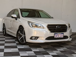 2015 Subaru Liberty B6 MY15 3.6R CVT AWD White 6 Speed Constant Variable Sedan.