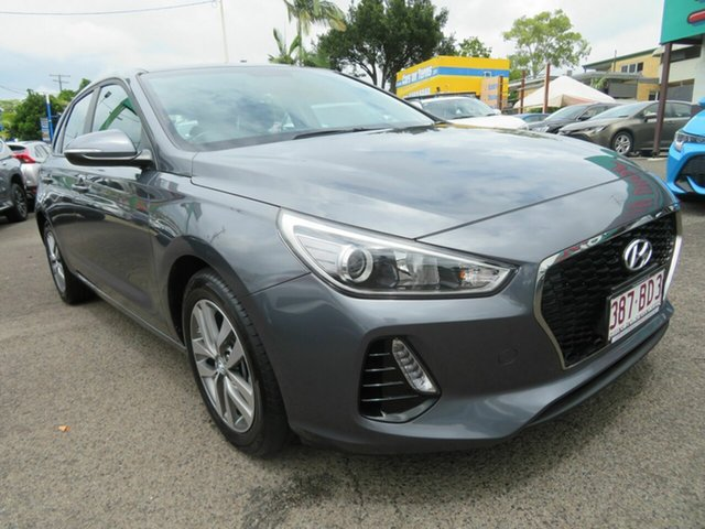 Used Hyundai i30 PD2 MY19 Active Mount Gravatt, 2019 Hyundai i30 PD2 MY19 Active Grey 6 Speed Sports Automatic Hatchback
