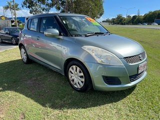 2011 Suzuki Swift FZ GA Blue 5 Speed Manual Hatchback